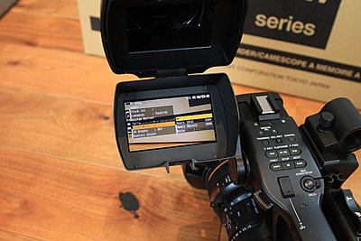Sony PMW-EX3 in immaculate condition - BRAND NEW LENS - only 308 hours! - UK-ex3-2.jpg