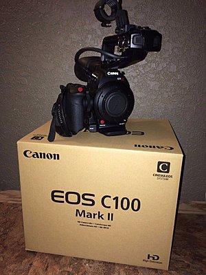 Canon C100 Mark II, Wooden Camera Accessories & 2 Sandisk Extreme Pro 32GB Cards-c100-mark-ii.jpg