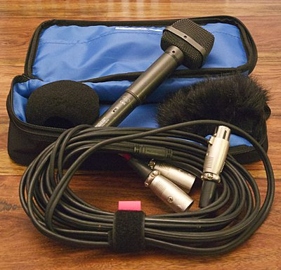 Audio-Technica AT825 stereo condenser mic with pouch, cable, windsock-_mg_2670.jpg