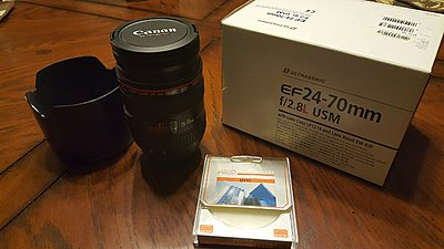 Canon 24-70 F2.8 L Lens with Hoya Filter & more!-lens-pic-1.jpg