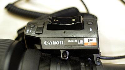 Canon J20ax8B4 IRS SX12 IF 20x BCTV Lens-p1030052.jpg
