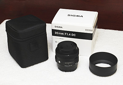 Sigma Art 30mm Lens f/1.4 Canon EF - Great Condition-sigma-art-30mm-box-pouch.jpg