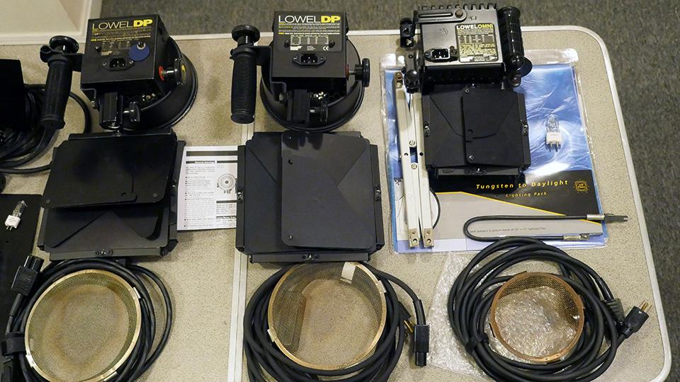 Attractive Lowel DP Lights (2), Omni Light, Pro Light, Accessories Lowel1b ...