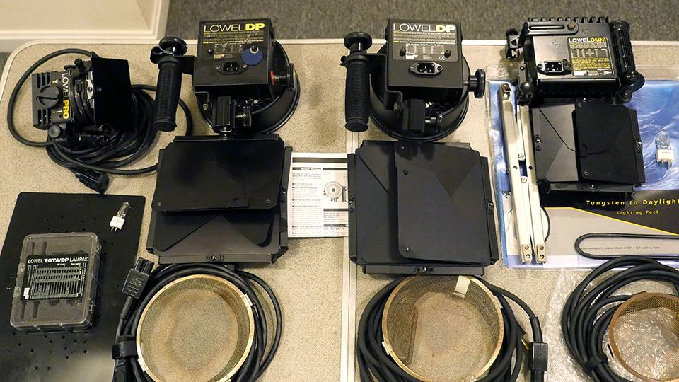 ... Lowel DP Lights (2), Omni Light, Pro Light, Accessories Lowel2b