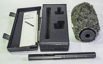 Lectro wireless kit, 4 Lavs, Shot Gun, recorder-sennheiser-mkh-60-p-48.jpg