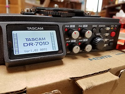 Tascam DR-701D 6-Track Field Audio Recorder SMPTE Timecode - 5-20160509_084658.jpg