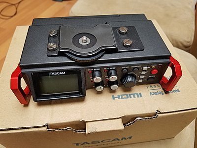 Tascam DR-701D 6-Track Field Audio Recorder SMPTE Timecode - 5-20160509_084636.jpg