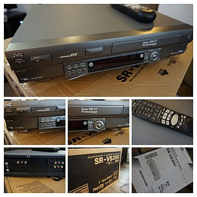 JVC SR-VS30U Mini-DV SVHS Deck 0 OBO-dsc00165-collage.jpg