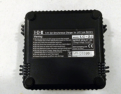 JVC LC-2J Genuine Dual Charger for SSL-50, SSL-75 Batteries-3.jpg