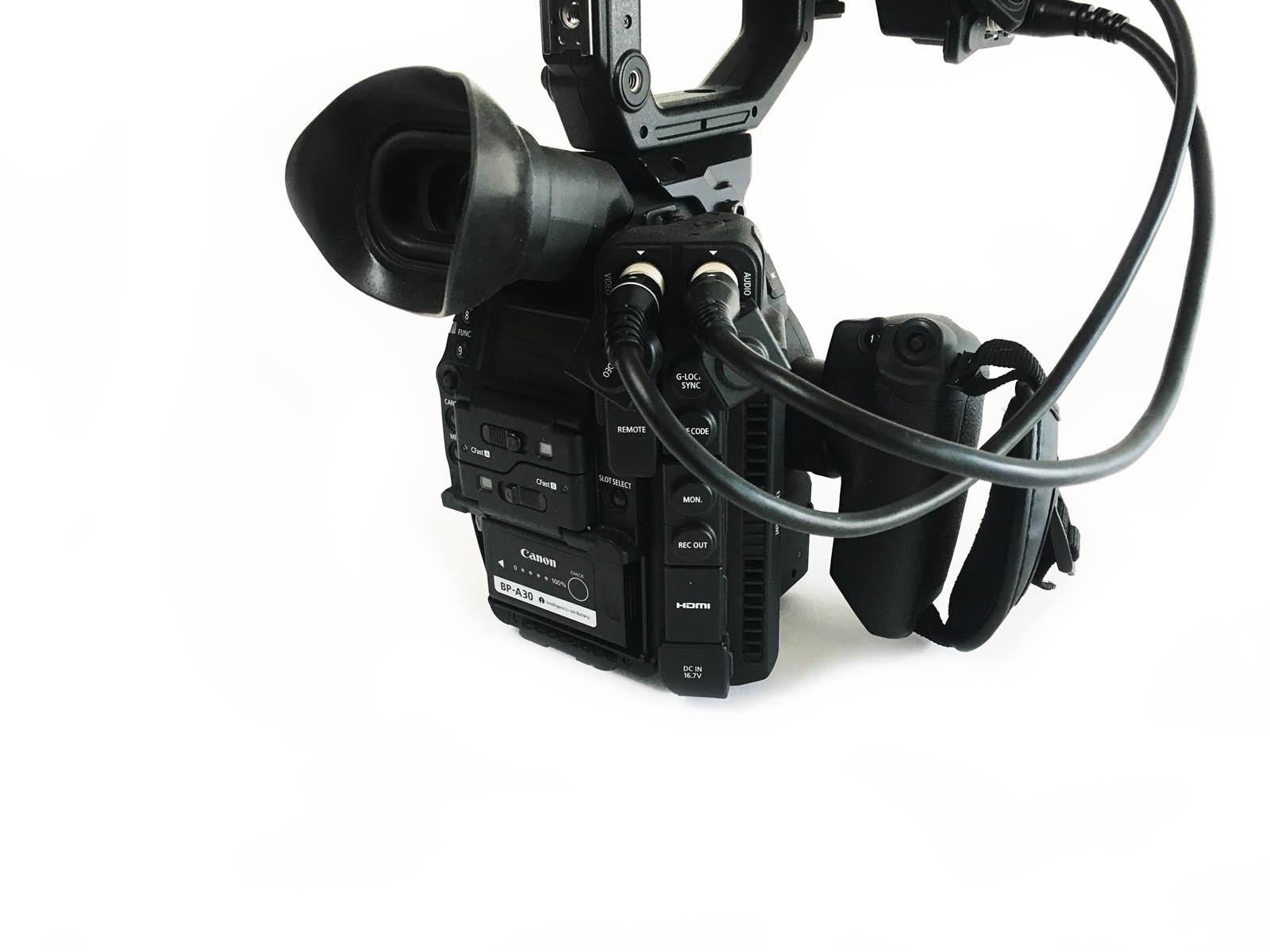 FS-CONUS: Canon Cinema EOS C300 Mark II Camcorder Body w