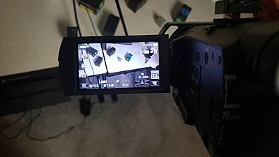 Sony AX100 with Sony Batteries and Adapter-5.jpg