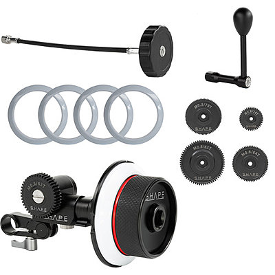 SHAPE Follow Focus Kit with Single 15mm Rod Clamp-shape_fa123_focus_single_rod_follow_1539110186000_1436827.jpg