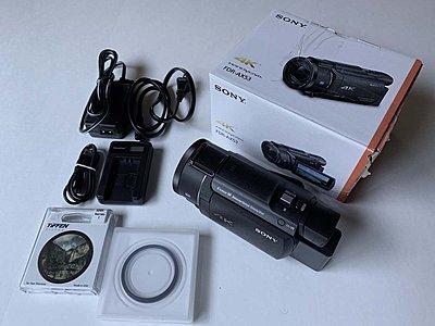 Sony FDR-AX53 4K Ultra HD Handycam Camcorder Great Condition-img_5812.jpg