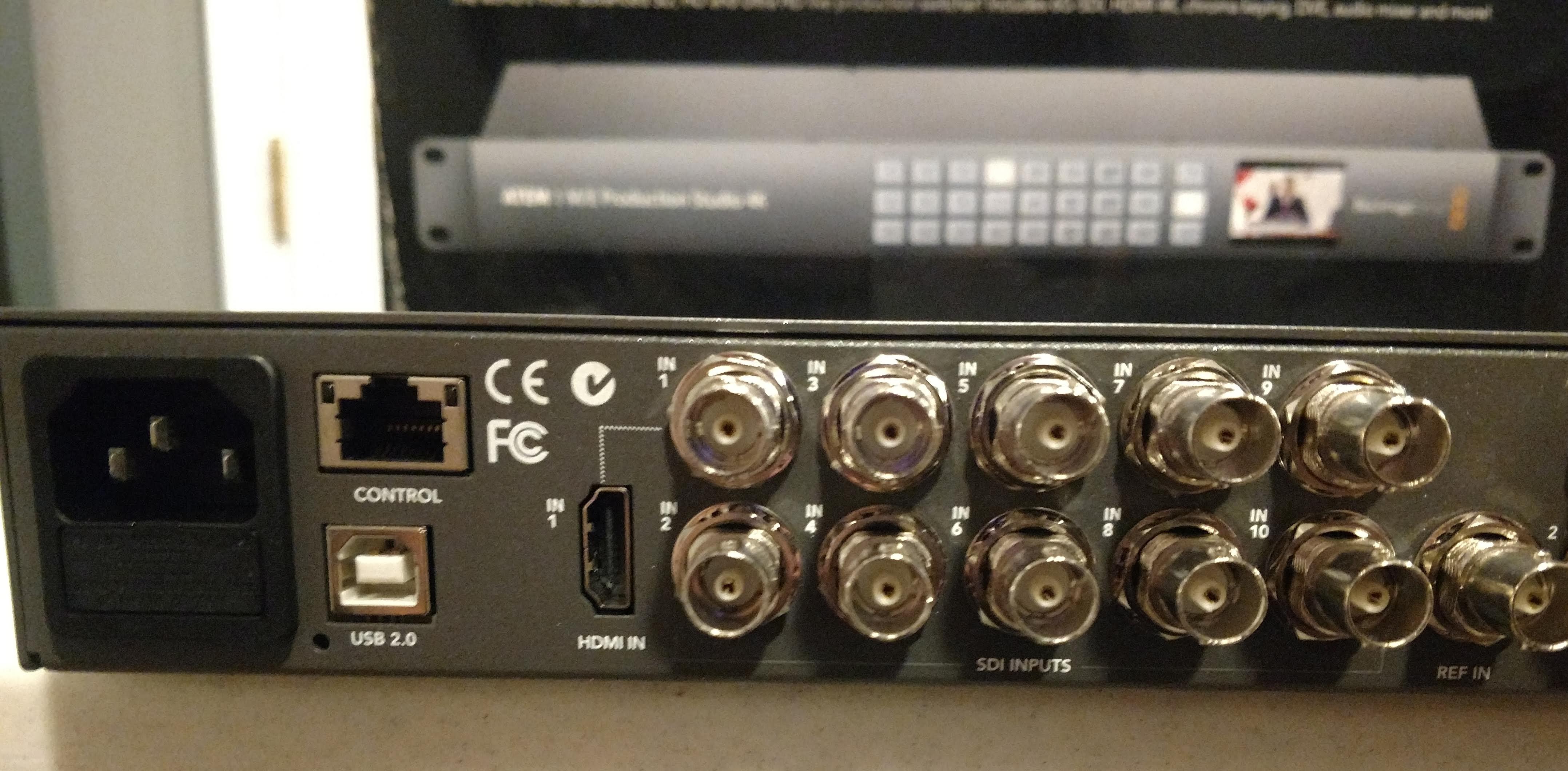 Fs Us Akhi Blackmagic Design Atem 1 M E Production Studio 4k At Dvinfo Net