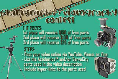 ServoCity Photography/Videography Build Contest-photography_videography-build-contest.jpg