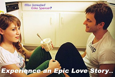 """Who Invented Erika Spencer?"" - A Romantic Comedy-couple-ice-cream-poster.jpg"