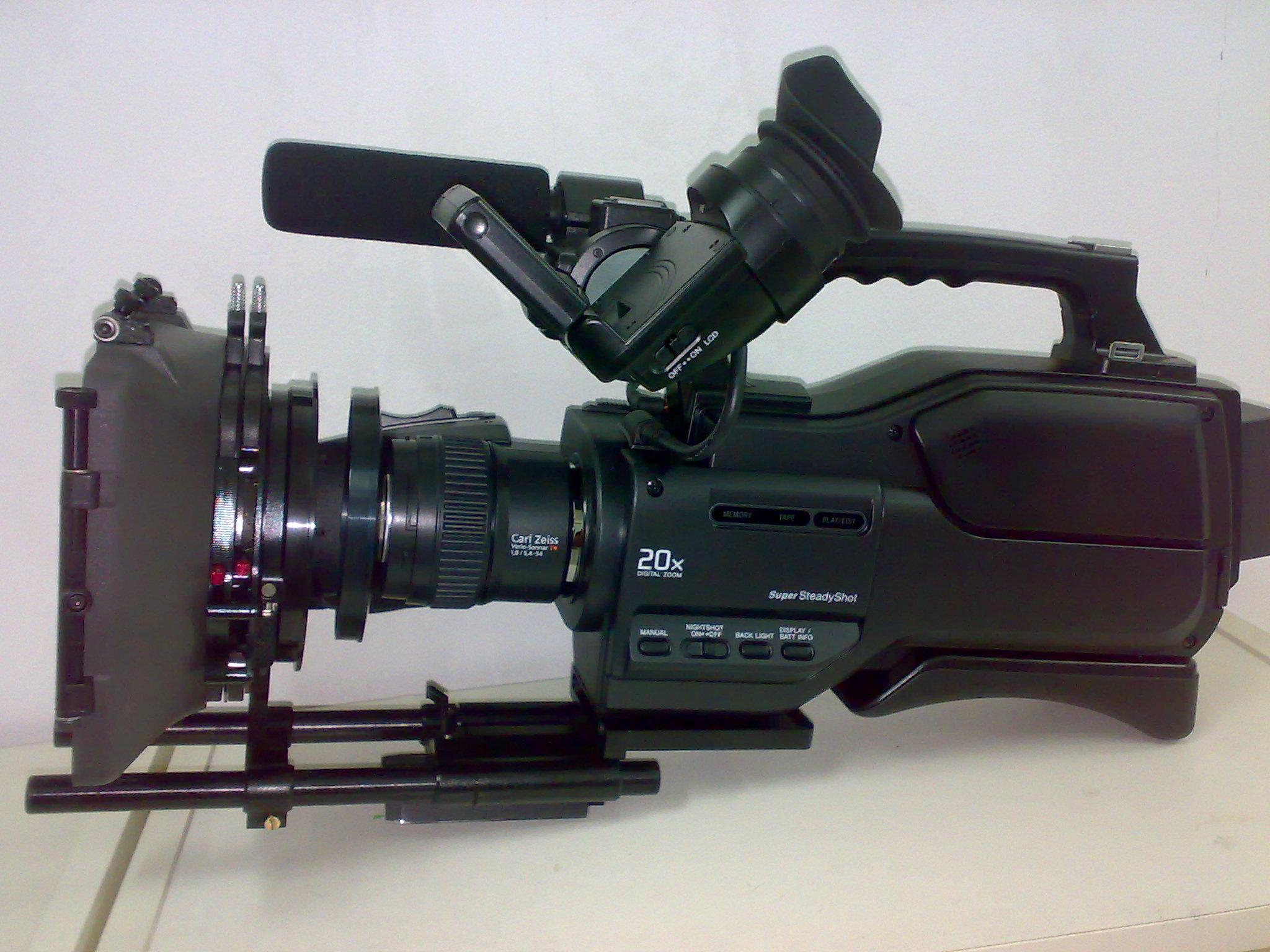 Sony HVR-HD 1000 E Profi - Camcorders - Photopoint