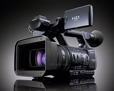 Sony HXR-NX5U and HDR-AX2000 Camcorder-ax2000f.jpg