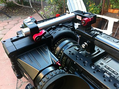 Mounting a Zacuto EVF on the front of the F3-img_0801.jpg