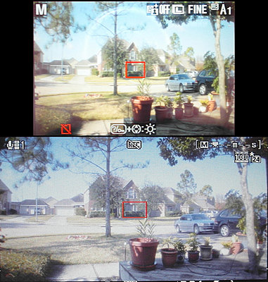 Accurate Anamorphic Preview on External Lilliput Monitor-monitorandcam0.jpg
