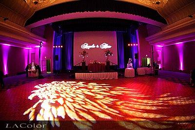 LED Uplights and GOBO for Wedding Reception-uplights1.jpg