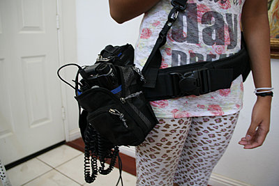 Shooting weddings with small handicams-holster.jpg