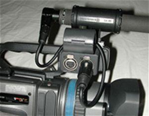 Bob Stevers' custom short XLR audio cable.