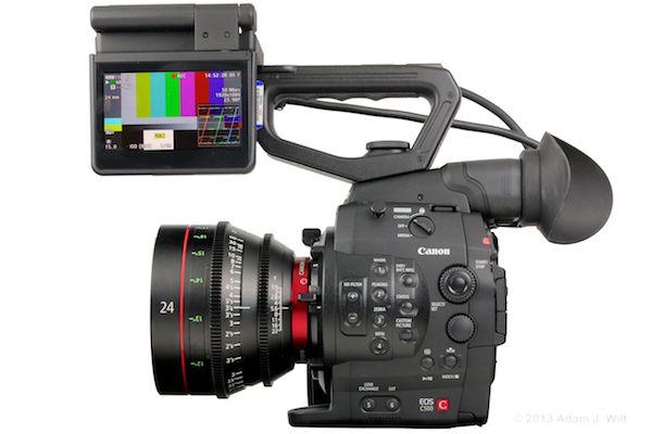 Canon CN-E24mm T1.5 on a Canon C500.