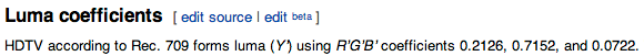 Rec 709 Wikipedia the free encyclopedia