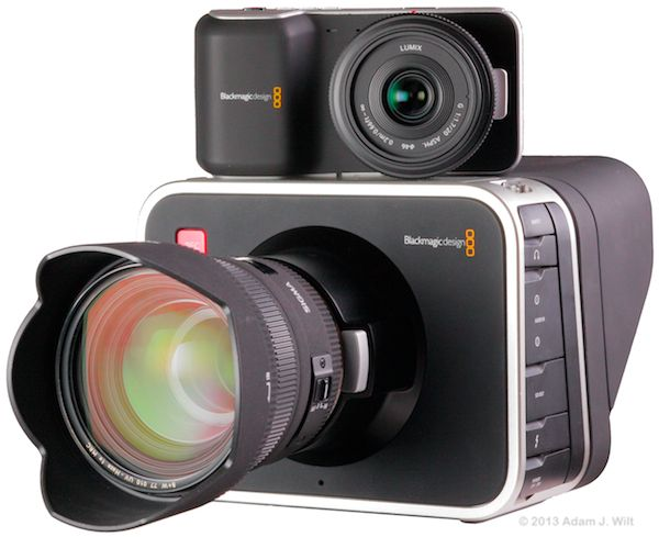 Blackmagic Cinema and Pocket Cinema Cameras