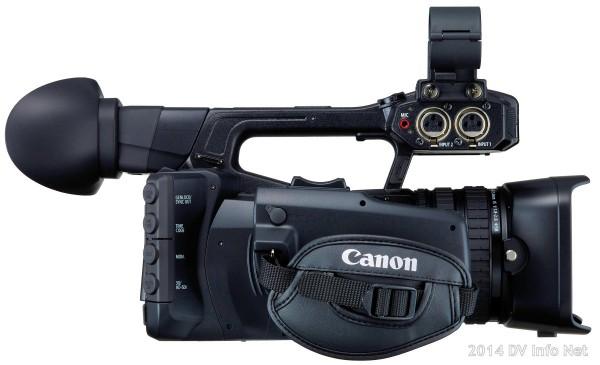 Canon XF205 DV Info Net