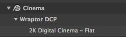 Wraptor 2K DCP