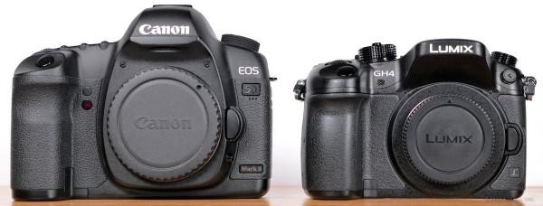 Canon 5D Mk II vs. panasonic DMC-GH4.