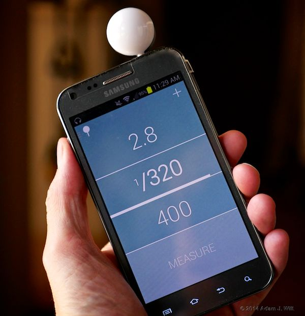 Lumu on Samsung Galaxy S II 4G, Android 4.1.2. Your mileage may vary...