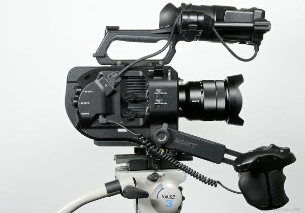 Compact FS7 rig...