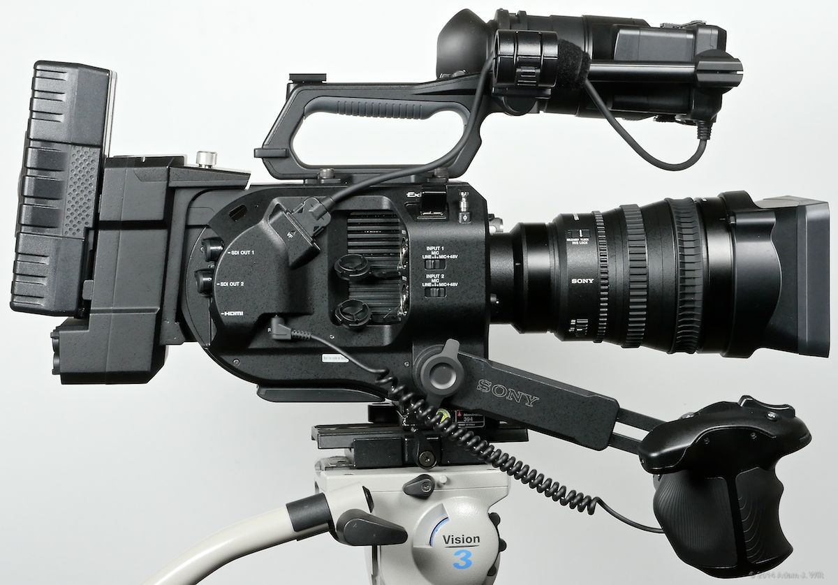 how to get data off sony fs7