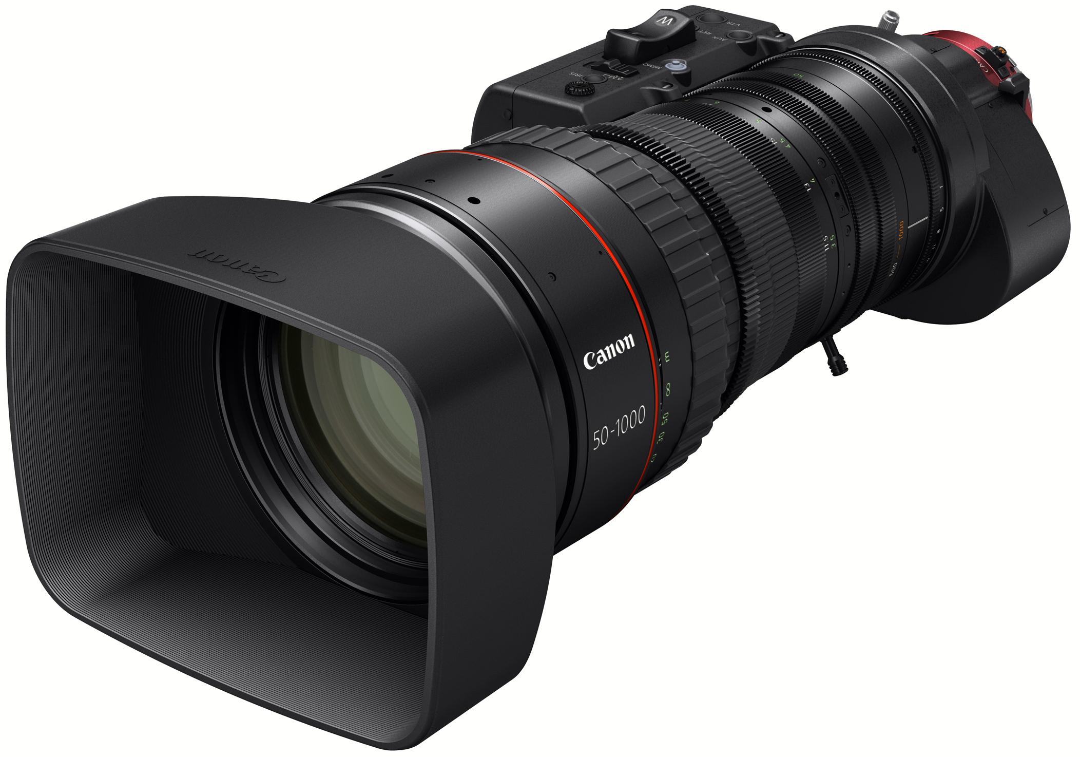 Canon U.S.A. Introduces New CINE-SERVO 25-250mm T2.95-3.95