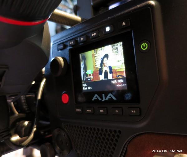 The AJA Cion at NAB2014 from DV Info Net.