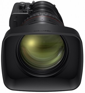 The front diameter of the CN20x 50 lens is Φ136mm and it is colour-matched for easy integration with results from all Canon EF Cinema lenses