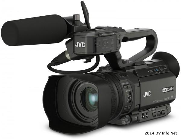 The JVC GY-HM200 at DV Info Net