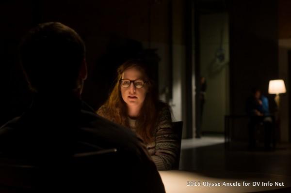 Molly Flynn under the Lowell Pro light at DV Info Net.