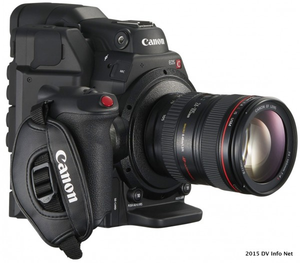 EOS C300 Mark II FSR 24-105 f4L Grip