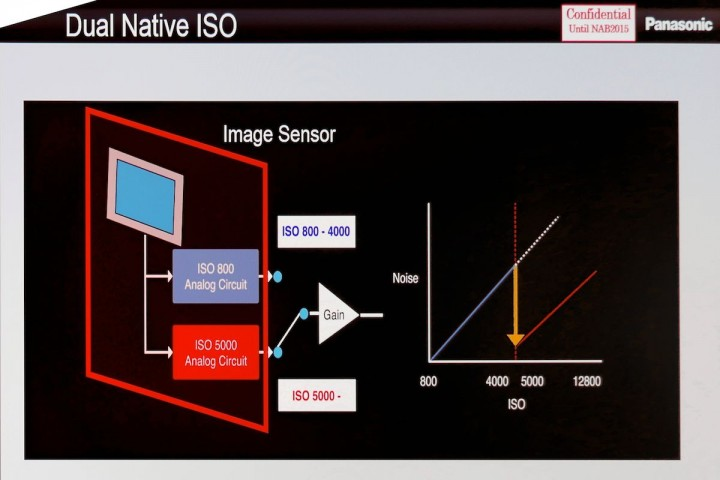 Dual Native ISOs on the Varicam 35
