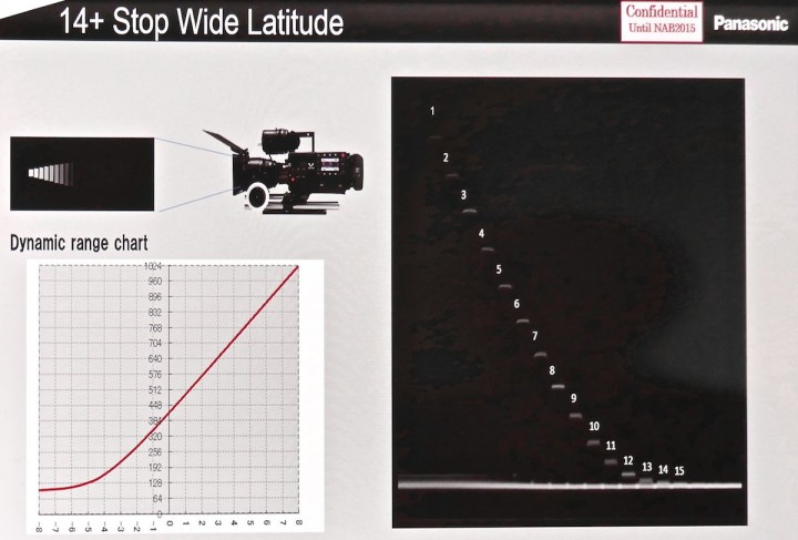 Varicam 35 on the DSC Labs Xyla chart