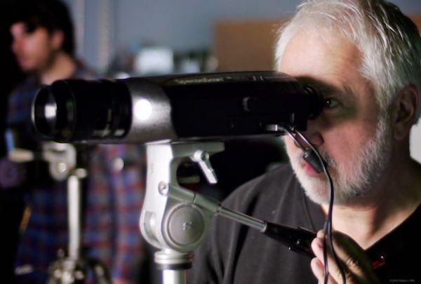 Rich Pierceall uses a SpectraScan 655 to explore light