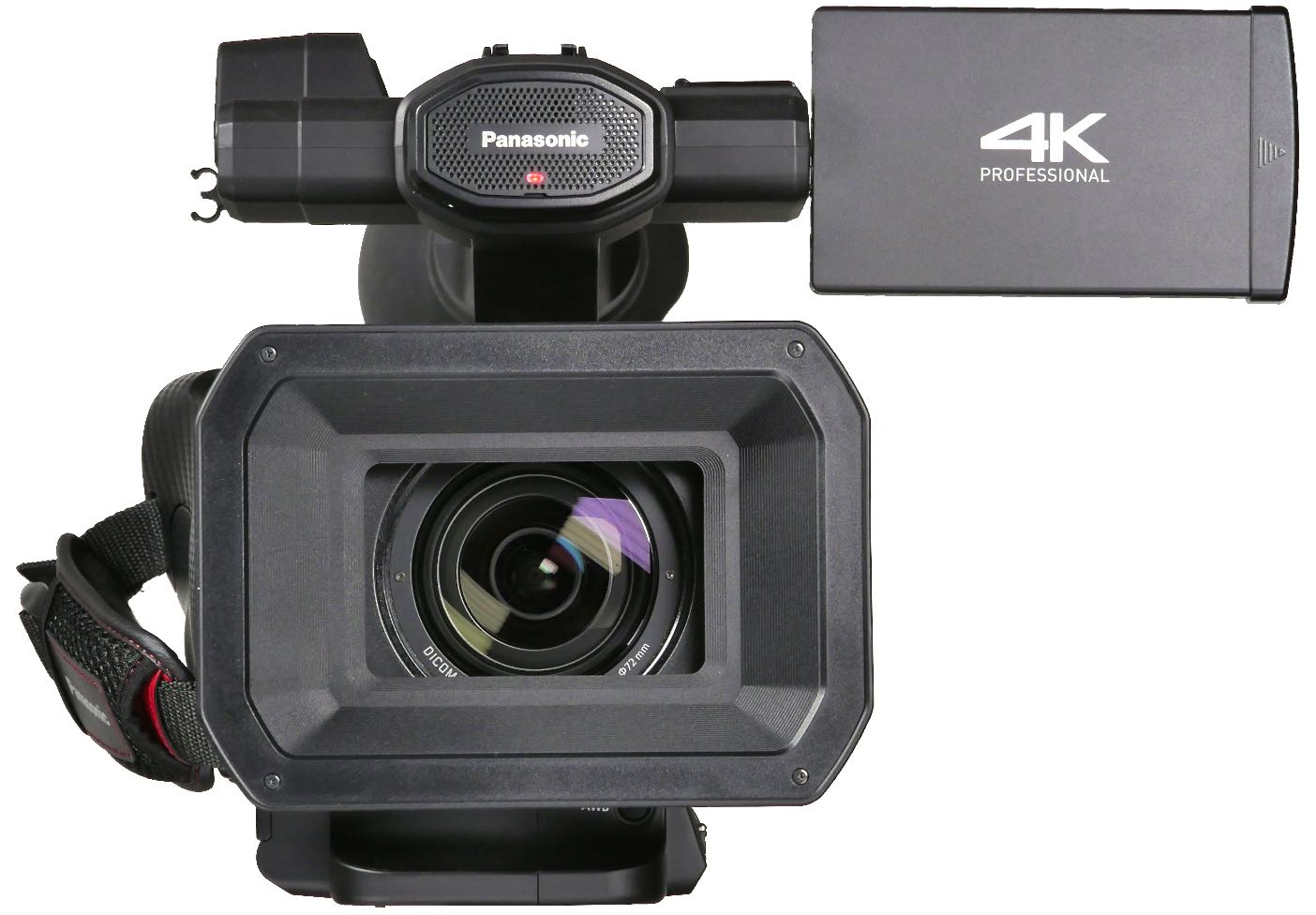 Review Panasonic Ag Dvx200 4 3 Sd To 4k Fixed Lens Camcorder Video Camera Diagram Labeled Chapter The Front View