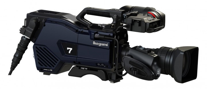 The Ikegami UHK-430 4K/HD Portable Camera System.