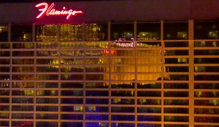Vegas: home of shiny buildings