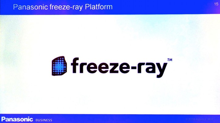 Freeze-ray