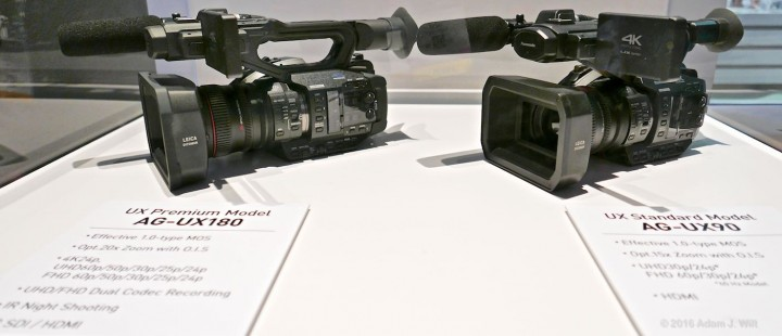 Panasonic's new camcorders are UHD-capable